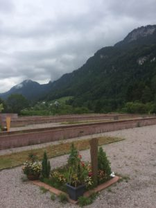 The view overlooking Vorarlberg's first Islamic cemetery.