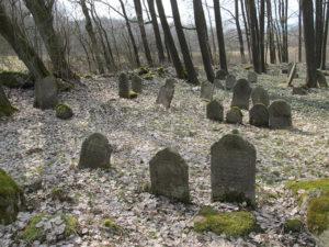 The Jewish cemetery near Porejov.