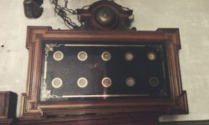 Situated in the servants' quarters, this machine would buzz whenever a button was pressed in another room, indicating help was needed.