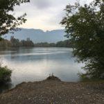 The old Rhine between Lustenau and Diepoldsau